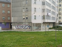 CXS, OSK (Graffiti Ferrolterra) Tags: graffiti ferrol ferrolterra streetart bombing