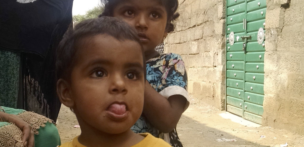 CCM Child - The visits bring hope for health & development of these children (Photo Nabeel Parvez)