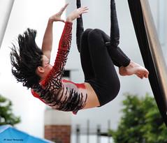 Graceful Movements (John Neziol) Tags: jrneziolphotography portrait outdoor cirquedusoleil artist artistic girl woman nikon people action graceful drama dramatic brantford beautiful nikoncamera nikondslr nikond80 naturallight trapeze trapezeartist