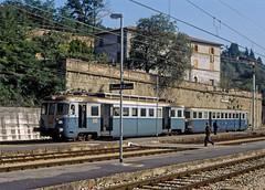 MUA E 108 (maurizio messa) Tags: mua fcu e108 elettromotrice yashicafxd umbria mau bahn ferrovia treni trains triebzug triebwagen triebzuge railway railroad railcar