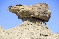Bird's head Hoodoo formations, W of Quemado, NM (Lon&Queta) Tags: 2016 desert flickr gps landscapes mountains newmexico usa unitedstatesofamerica