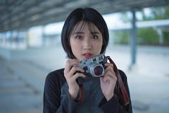 DSC_3643 (Waynegraphy) Tags: waynelee waynegraphy photography photographer nikon d750 50mm f18 nikkor malaysia girl shooting outdoor street mrt leica m3