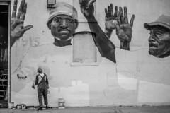 DTLA Art District painter (jizzy32) Tags: canon mirrorless eos eosm5 eosm6 street photography losangeles downtown dtla painter art painting wall artdistrict