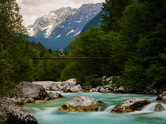 L o n e l i n e s s (davYd&s4rah) Tags: river sočavalley soča slovenia slowenien mountains berge longexposure longtime langzeitbelichtung sarah bridge blue schroff treeline shore depth foreground cloudy may olympus em10markii m1240mm f28 olympusm1240mmf28 ƒ40 twoseconds roadtrip europe europa composition julischealpen nationalpark triglav julianalps alps loneliness