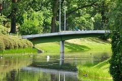 Spring in the park (Jurek.P) Tags: park citypark kępapotocka warsaw warszawa poland polska bridge mostek jurekp sonya77