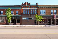 P5267734 (elsuperbob) Tags: grandrapids michigan storefrontchurches newlife reuse newtopographics architecture emptystreets
