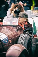 Rosse in competizione (drugodragodiego) Tags: brescia italy 1000miglia 1000miglia2018 cars race women red people street pentax pentaxk1 k1 pentaxda60250mmf4edifsdm smcpentaxda60250mmf4edifsdm redhead pentaxart