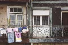 Old fashioned way (RuiFAFerreira) Tags: architecture beauty canon color balcony doors exterior house old portugal porto rusty textures urban zenit helios 44m4 58mm zenithelios44m458mm
