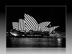 2018 Vivid Sydney: Lighting of the Sails: B&W Metamathemagical (dominotic) Tags: 2018 vividsydney lightingthesails metamathemagical jonathanzawada sydneyoperahouse sydney nsw australia circularquay sydneyharbour vividlight lightinstallations art festival animation lighting light lightprojection icon colour festivaloflight afterdark night winterfestival nightlighting nightsky movement blur bw blackandwhite