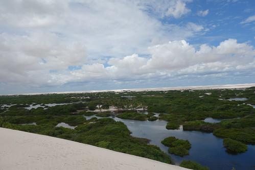 Baixada Grande, la deuxième oasis du désert des Lençois.
