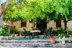 This is the Life (George Plakides) Tags: lofou lofos cyprus village lifestyle traditional trees shade sitting