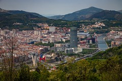 Bilbao desde arriba (grzegorzmielczarek) Tags: baskenland bilbao bizkaia euskadi miradordeartxanda spanien