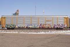 Suey Gash Haels Pear Eye (Psychedelic Wardad) Tags: freight graffiti ta dirty30 d30 dethkult dklt mc mayhem eye wge nsf n4n pear tnt dms btm ftl otr msk haeler haels ick gash dts sws mf suey