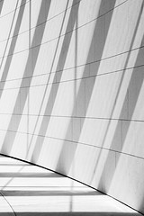 Stripes & Shadows (Michael Muraz) Tags: 2017 agakhanmuseum bw blackwhite canada ismailicentre northamerica on ontario toronto world abstract architecture building monochrome museum ca