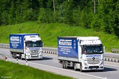 MB Actros 1848 MP4 BigSpace / MB Actros 1844 MP3 LH / Westukrtrans (UA) (almostkenny) Tags: lkw truck camion ciężarówka mb mercedesbenz actros mpiv mp4 bigspace bc bc0315ex westukrtrans