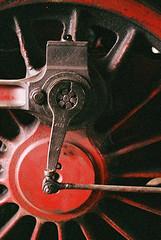 Steam loco (mkk707) Tags: film analog wwwmeinfilmlabde leicam3 summicronm50mmdr itsaleica vintagefilmcamera vintagelens 35mmfilm fujifilmsuperiaxtra800 steamengine kranichstein darmstadt eisenbahnmuseum
