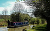 Canal Boat... (MickyFlick) Tags: narrowboat canalboat grandunioncanal northamptonshire peacefulness serenity footpath towpath hedges canal trees fields countryside 5mphmax mickyflick