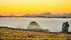 George Fog sunset (ChrisMu11er) Tags: sunset yellow fog visibility nikond90 d90 southafrica george landscape throwback