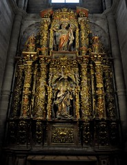 Astorga (León-España). Catedral. Retablo churrigueresco de Santa María Magdalena (santi abella) Tags: astorga león castillayleón españa catedraldeastorga retablos