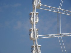 18-19-20-21 (derpunk) Tags: 18 19 20 21 ferris wheel marseille france blue sky white clouds round lines
