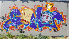 Coma... (colourourcity) Tags: streetartaustralia streetartnow streetart graffiti melbourne colourourcity colorourcity awesome original melbournestreetart melbournegraffiti burncity burner letters coma comaone coma1 tbs