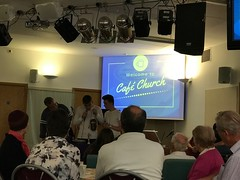 Cafe Church - silent auction in aid of Fat Fleshed