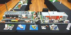 Queenscliffe Bricks 2018 (1) (Lonnie.96) Tags: queenscliff queenscliffe point lonsdale bricks lego display exhibition exhibitor seventh 2018 june 8 9 10 setup packup model moc own creation bellarine geelong mugs victoria australia brick station emergency rescue ambulance police fire truck van car building bay door front back left right cfa country authority replica health command road snot studs top tree ladder traffic light snow snowmobile winter coast guard 09 mfb boat local ses state service walkway minifig minifigure roof new complete
