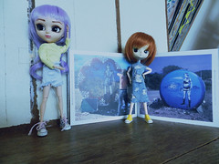 a book & blue & art (JoséDay) Tags: abook aboutgraffiti hugokaagman blue singintheblues somethingblueiloveit dolls secretlifeofdolls pullip pullipdal