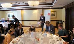 07-06-2018 Exclusive Luncheon with Secretary of State Pieter De Crem - DSC08934