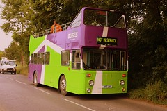 Tree loping at Stutton (Chris Baines) Tags: ipswich buses leyland atlantean tree loping stutton mrt 9p