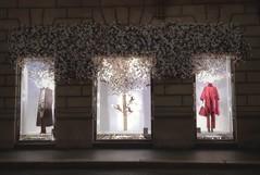 Primavera incontenibile! (Aellevì) Tags: vetrina manichini albero fiori fiorito negozio salvatoreferragamope2018