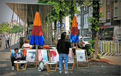 Bruxelles-les-Bains, quai des Péniches, Bruxelles, Belgium (claude lina) Tags: claudelina belgium belgique belgië bruxelles brussels bruxelleslesbains