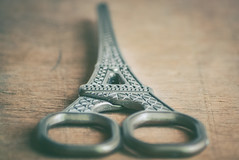 hand tool .... MM (Ayeshadows) Tags: macromondays scissors hand tool or part it eiffel shape cutting cut