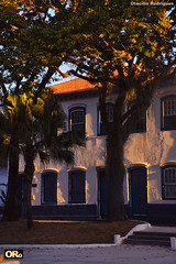 Old mansion behind the trees (Otacílio Rodrigues) Tags: casarão mansion histórico historic árvores trees praça square arquitetura architecture urban resende brasil oro