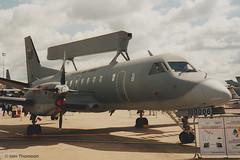 100006 - SAAB 340B/Tp100 Argus (iainthomson84) Tags: 2000 airshow aircraft aerospace aeroplane raf airforce sweden tp100 saab argus aewc erieye 340b mildenhall air fete suffolk