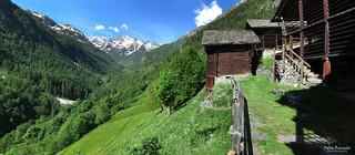 Mattina di tarda primavera a Ca Vescovo - Val Vogna