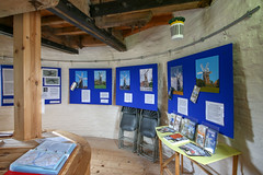 Holgate Windmill exhibition, 'How Many Sails?' - general view 2 (nican45) Tags: 09062018 1020 1020mm 1020mmf456exdc 2018 9june2018 canon dslr eos70d hwps holgate holgatewindmill june sigma york yorkshire exhibition mill sail sails windmill