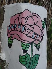 (Joan Pau Inarejos) Tags: grecia garmor despedida miconos mykonos junio vacaciones viaje paradise beach club pintada pintadas rosa rose