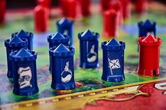 Blue Flag in danger (HDR). (wimjee) Tags: nikond7200 nikon d7200 afsdx1680mmf284eedvr stratego game strategy flag bomb niksoftware hdrefexpro2 highdynamicrange hdr 500px
