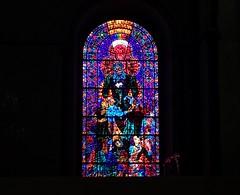Disney Stained Glass / UK, Canterbury (chudnovska.karina) Tags: disney art fresca window colourm cathedral church glass