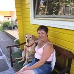 Sam, mit Frauchen Chillen an einem schönen Maiabend! thumbnail