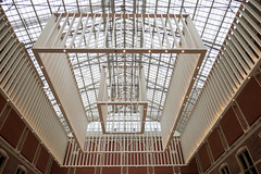 Welcome to the Rijksmuseum, Amsterdam (Monceau) Tags: amsterdam rijksmuseum ceiling framework welcome center lookingup