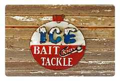 Sign Of The Week (garywitte845) Tags: sign carnarvon iowa saccounty ice bait tackle