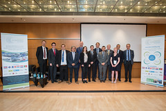 (From left to right) Holger Dalkmann, Miguel Gaspar, Paulo Humames, Manuel Pulgar Vidal, Bob Oeloff, Virginie Dumoulin, José Gomes Mendes, Willem Sulsters, José Pedro da Silva Rodrigues, Barry Howe, Eilittä Eleonoora, Rui Dias, Nicolas Beaumont at the S