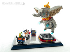 Dumbo Mech (dvdliu) Tags: lego moc dumbo mickey mouse donald duck goofy mech mecha elephant jake parker