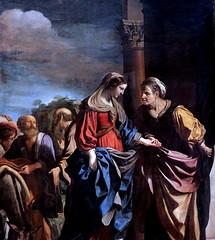 IMG_2333A Guercino (Giovanni Francesco Barbieri) 1591-1666 Bologne et Rome La Visitation. The Visitation  1632 Rouen Musée des Beaux Arts. (jean louis mazieres) Tags: peintres peintures painting musée museum museo france normandie rouen muséedesbeauxarts guercino