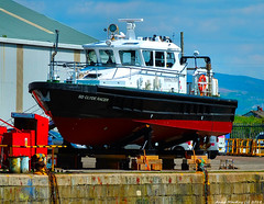 Scotland Greenock in the ship repair dock pilot launch SD Clyde Racer 17 May 2018 by Anne MacKay (Anne MacKay images of interest & wonder) Tags: scotland greenock ship repair dock pilot launch sd clyde racer xs1 17 may 2018 picture by anne mackay