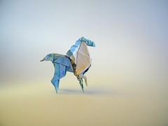 Caballo - Graciela Vicente (Rui.Roda) Tags: origami papiroflexia papierfalten money folding moneyfolding horse cheval cavalo caballo graciela vicente