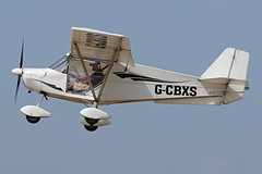 G-CBXS (QSY on-route) Tags: gcbxs lancashire landing 2018 fly in knott end beach airfield 09062018