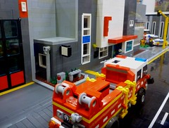 Queenscliffe Bricks 2018 (5) (Lonnie.96) Tags: complete new roof minifigure minifig walkway service state ses local boat mfb 09 guard coast winter snowmobile snow light traffic ladder tree top studs snot road command health replica authority country cfa right left back front door bay building car van truck fire police ambulance rescue emergency station brick australia victoria mugs geelong bellarine creation own moc model packup setup 10 9 8 june 2018 seventh exhibitor exhibition display lego bricks lonsdale point queenscliffe queenscliff